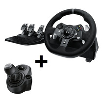 Volante Xbox One Y Pc Logitech G920 Driving Force Y Palanca