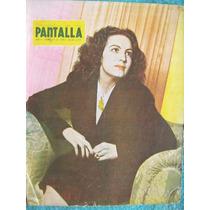 Revista. Pantalla. María Félix En Portada , 1945
