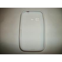 Protector Silicon Case Samsung Chat 2 S5270 Color Blanco!!!
