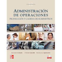 Libro: Administración De Operaciones: Producción Y... - Pdf