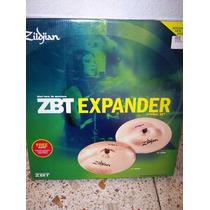 Zildjian Zbt Expander Nuevo Crash 18 Y China 18 Empaquetados