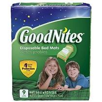 Goodnites Cama Desechables Mats 36 Count (embalaje Puede Var