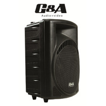 Bafle Bocina G&a Amplificado 12 Mp3 Usb /sd 300w Idd