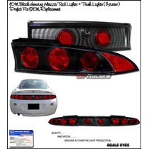 Calaveras Negras Mitsubishi Eclipse 95 96 97 98 99 Gst Gs Rs