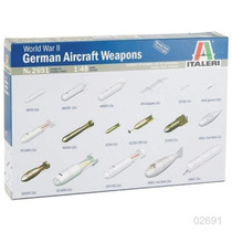 Italeri Set Armas Aviones Alemanes 1/48/ Tamiya Testors
