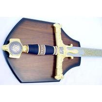 Espada Del Rey Salomon Ceremonial Medieval De Metal Katanas