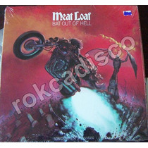 Heavy Metal, Meat Loaf, Bat Out Of Hell, Lp 12´,