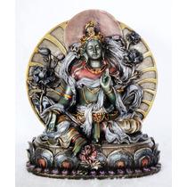Figura Escultura Buda Tara Blanca O Tara Verde Envío Gratis