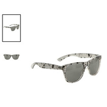 Hot Topic Lentes Nerd Clear And Black Geo Retro Sunglasses