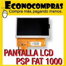 Pantalla Lcd Sony Para Psp Fat 1000 Original 100% Nueva!!!