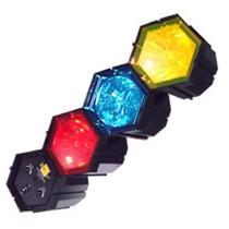 Luces Audioritmicas Tipo Estrobo Control De Sensibilidad Vv9