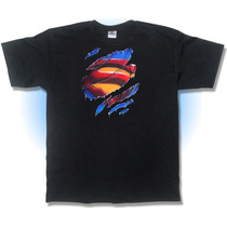 Playera Superman Roto, Camisa, Phantomasx Airbrush