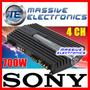Amplificador Sony Xm-zr704 700w 4ch P Bocinas Massive Bfn