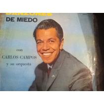 Disco Acetato De: Carlos Campos Y Su Orquesta