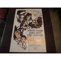 Poster Original The Spiral Staircase La Escalera De Caracol