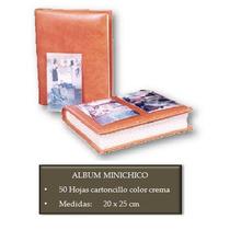 Album Fotografico Forrado En Piel 20 X 25 Cms