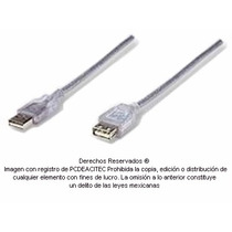 Cable Extension Usb 2.0 Tipo A Hembra-macho 30 Cm 4583