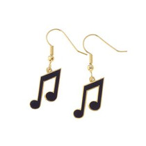 Increíbles Aretes De Notas Musicales !! Regalo Ideal