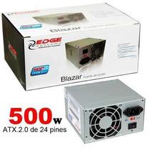 Acteck Fuente De Poder Atx 500w 24p Sata Af-b500p En Caja