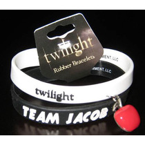 Twilight / Crepusculo Set 2 Pulseras Team Jacob Y Twilight