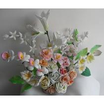 Moldes Para Hacer Flores Fomi ( Fomy Foamy ) Envio Gratis!!