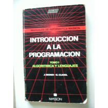 Introducción A La Programación Tomo 1 Biondi Y Clavel Maa