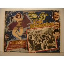 Christian Martell, Cien Muchachas , Cartel (lobby Card)