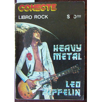 Libro Rock, Conecte, Heavy Metal, Led Zeppelin