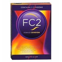 12 (doce) Condones Femeninos Preservativos Fc2 Preservativos
