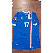 Jersey Errea Islandia Iceland Local Visita Euro2016 Original
