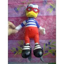 Disney Peluche De Pato Donald Vestido De Patinador