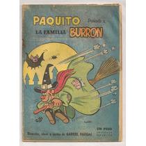 Comic Familia Burrón Borola Bruja Gabriel Vargas De 1959