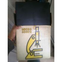 Microscopio Semi Antiguo