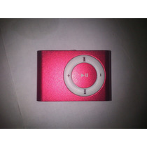 Mini Mp3 Metalico Tipo Ipod Shuffle Clip Micro Sd Hasta 32gb