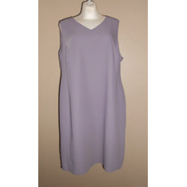 Venezia! Precioso Vestido Color Lila Corte Clásico, Talla 18