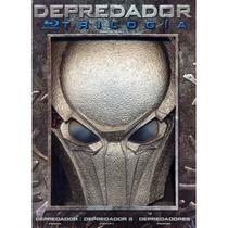 Depredador, Boxset Con La Trilogia En Blu-ray Con Mascara