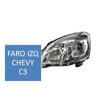 Faro Derecho E Izquierdo Para Chevy C3 09-11