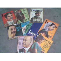 8 Revistas Impacto Año 1949 Primeros Numeros