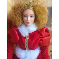 Barbie Pelirroja Pelo Chino Vestida Muy Elegante
