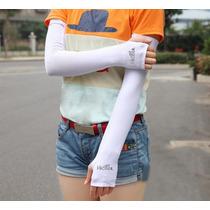 Mangas Protectoras Sol Cubre Manos Deporte Ciclismo Uv