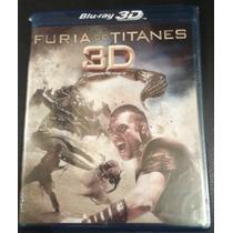 Furia De Titanes, Clash Of The Titans, ( Bluray 3d )