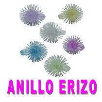 Anillo Erizo. Juguete Miniatura Para Maquina Chiclera.