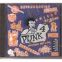 Punk - Volumen 4 ( Compilado Hardcore Punk Mexicano) Cd Rock