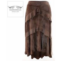 Falda Con Holanes Bebe - Fashionella - S (26) T9y2 T9y0