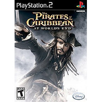 Pirates Of The Caribbean At Worlds End Piratas Caribe Ps2