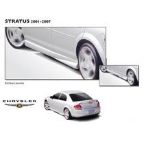 Estribos Laterales Dodge Stratus 95-06 Plastico Poliuretano