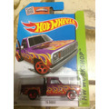 Hot Wheels 78 Dodge (morada Con Llamas) 2015