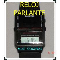 Genial Reloj Parlante Ideal Ciegos, Niños, Gatget Regalo