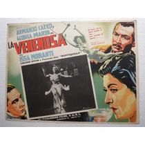 Cartel La Venenosa Arma Calvo Gloria Marin Issa Morante 1949