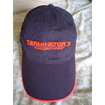 Gorra Terminator 3 Rise The Machines Ajustable
